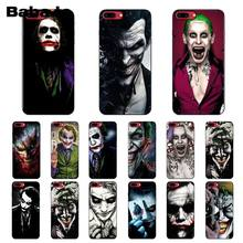 Batman Dark Knight Joker Babaite Karta TPU preto Tampa da Caixa Do Telefone Shell para o iPhone Da Apple 8 7 6 6 S mais X XS MAX 5 5S SE XR Tampa(China)