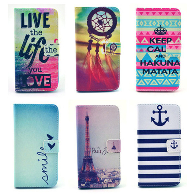 Flip Case For funda coque Samsung Galaxy Trend Lite S7392 S7390 GT-S7392 GT-S7390 Phone Cases With Stand Card Holder
