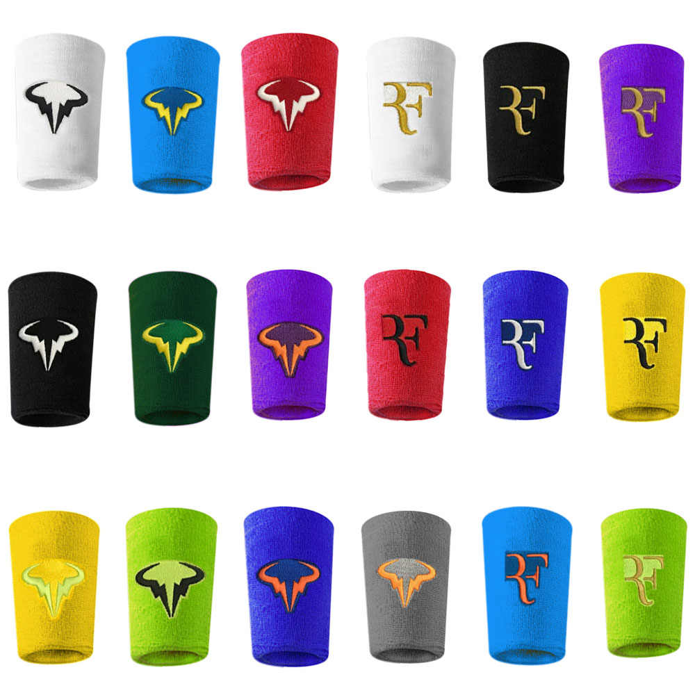Free shipping(6pcs/lot)RF/Nadal Sport Bracers/Wristbands-pcs/tennis racket/tennis racquet/Nadal wristband/basketball