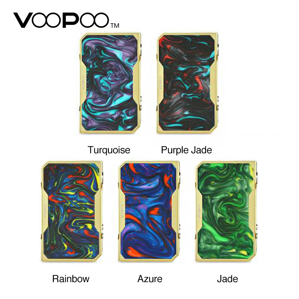 Original VOOPOO DRAG 157W TC Box MOD Gold Edition Max 157W Fast Fire Speed with Gene.Fan Chip No 18650 Battery Multiple Modes voopoo drag 157w tc box mod