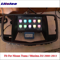 Liislee автомобиля Android мультимедиа для Nissan Teana J32/Maxima 2008 ~ 2013 радио стерео gps карта навигатор навигации Системы нет dvd плеер