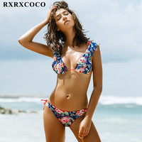 MOOSKINI Brand New Arrival Swimwear Women Swimsuit Push Up Brazilian Bikini Set Sexy Off Shulder Bikini