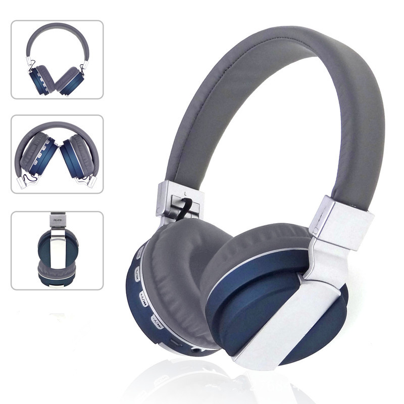 Wireless Bluetooth Headphones Stereo Headsets With Mic Soft Earmuff Support TF Card FM Radio Auriculares Foldable for Phones PC
