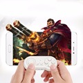 Portable Size Bluetooth Connection Anti-Lost Game Controller Convenient Multifunctional Music Control Self Timer White