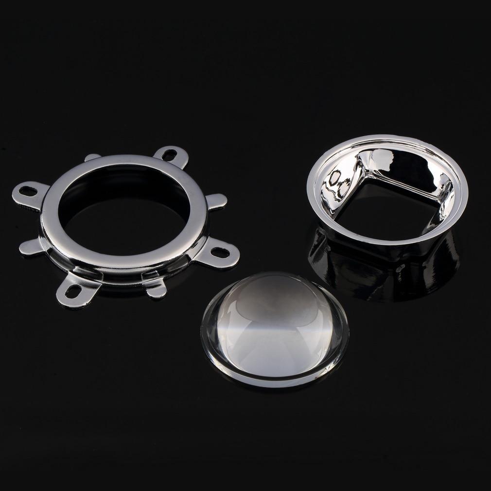 1 Set Of 30W 50W 100W LED 44mm Lens + Reflector Collimator + Fixed Bracket