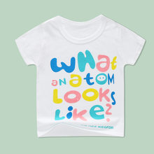 Children's T-Shirts For Baby Girls Tops Tees Toddler Boys Clothing Short Sleeve T Shirt Kids Clothes 24M18M 3 4 5 6Years TShirts(China)