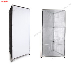 Photography studio with large 1*2m reflective soft light column aluminum tube material particles imported fabric CD50 T03