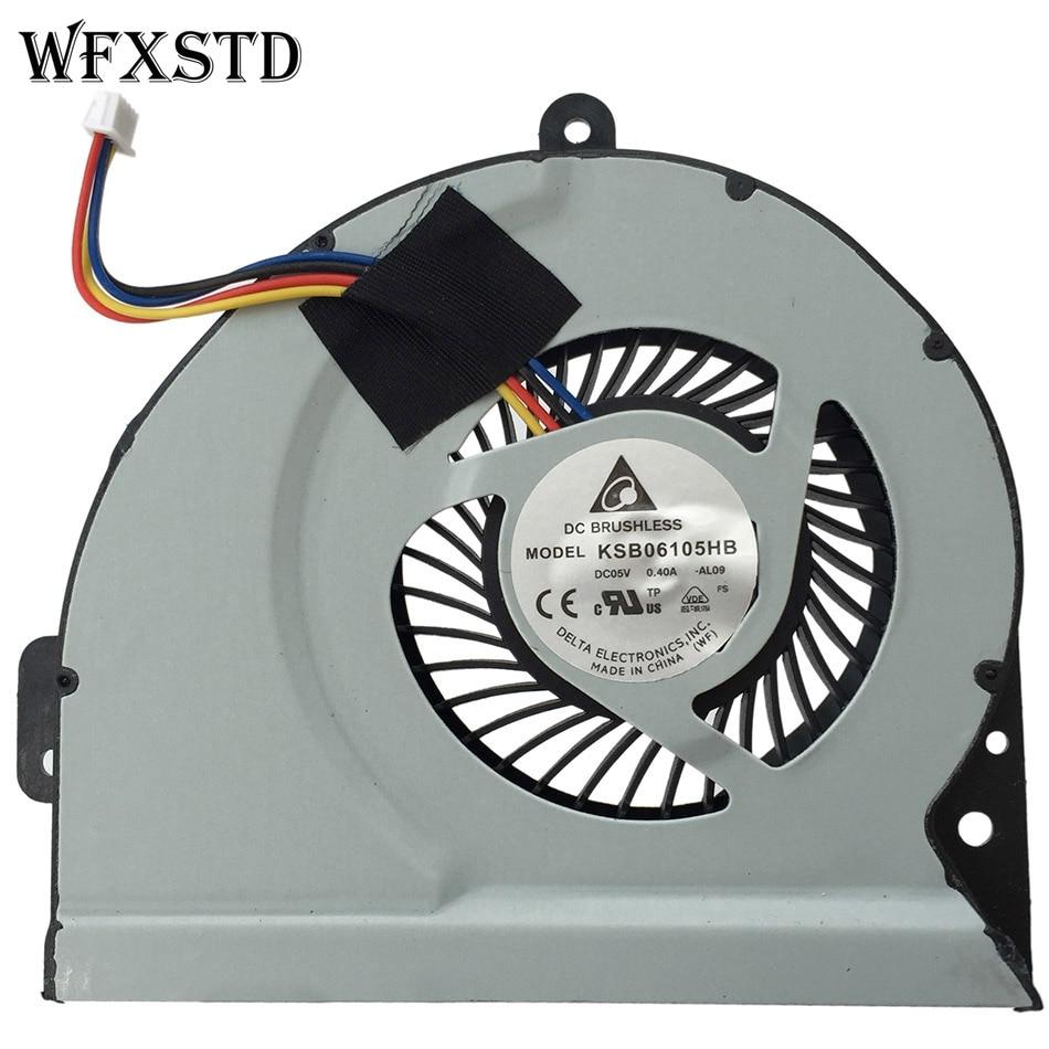 New Original Cooling Fan For ASUS A43 X53S A43S K53S A53S K53SJ X43S X44H K43 X54H X230 Cooler Radiator Cooling Fan
