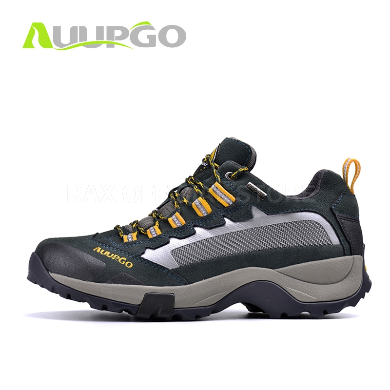 CA Suede Leather Waterproof Hiking Shoes For Men Outdoor Sports Shoes  Climbing Trekking Hiking Shoes Breathable Mountain Boots. ` 3cdb03018d