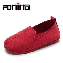 Bagus Desain Bagus Gaya Klasik Sepatu Padat Datar Sepatu Bayi Perempuan Sepatu Loafer Bernapas Slip Pada Sepatu Satunya Lembut 364