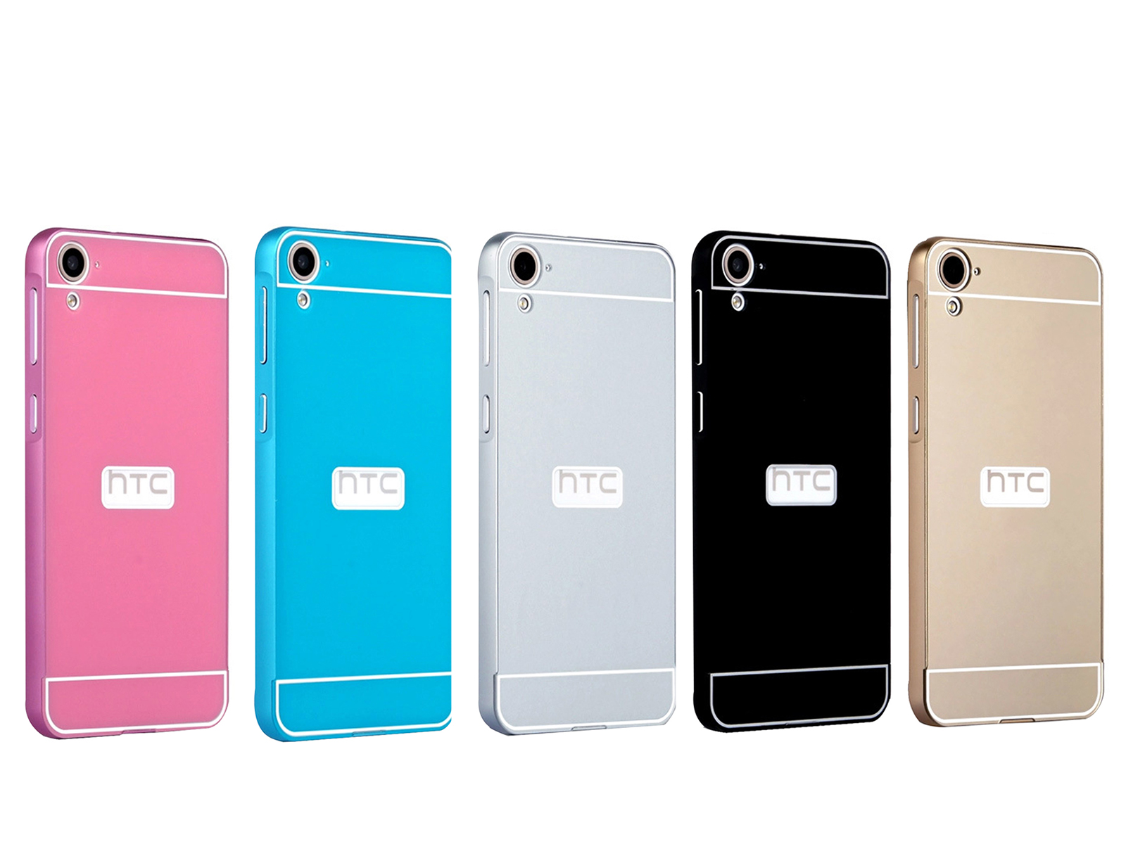 pretty nice db8f4 a3132 US $4.99 |Luxury Anti scratch Back Cover Aluminum Metal Bumper Frame For  HTC Desire 826 on Aliexpress.com | Alibaba Group