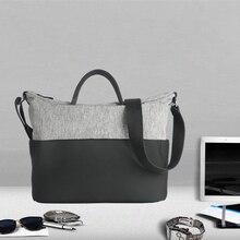 CAI Women Tote Handbag Patchwork High Capacity Shoulder Messenger Sling Bags Shopping Bag Laptop Fashion Casual Style Totebag