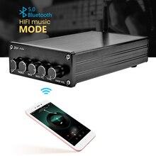 AIYIMA Mini Amplificador Bluetooth 5,0 Amplificador potencia subwoofer 2,1 TPA3116 Digital de clase D de alta fidelidad de sonido de fiebre casa amplificadores