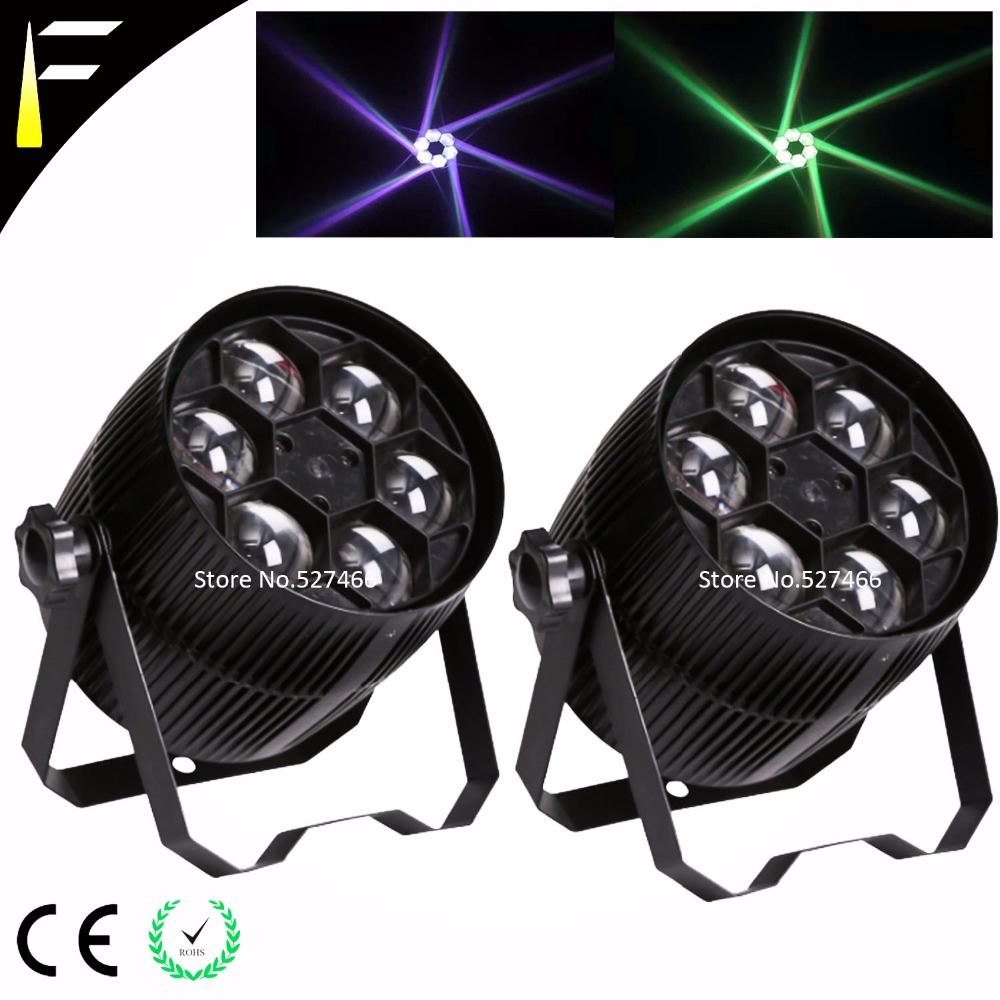 6PCS*10W CREE 4in1 LED Par Up Light 8/5CHs Big Eye Led Stage Effect Par Wash Backlight Tinted For Light Party/Festival/Wedding/M stackable 4in1 flightcase pack 350w big bee eye led par light zoom rotation colorful stage par cans plastic cover lcd display