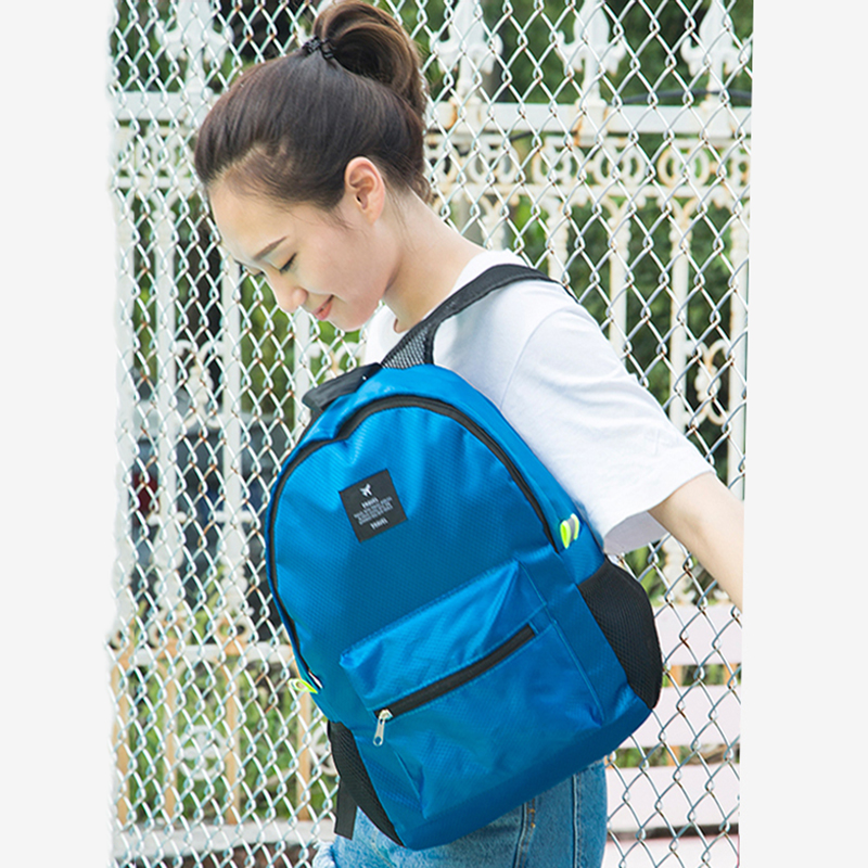 Women Nylon Waterproof  Backpacks Journey Rucksacks Portable Hand Backpack For Teenagers Girls Ladies School Travel Shoulder Bag #2