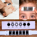 Professional 10pcs/lot Baby Forehead Head Strip Thermometer Fever Body Baby Child Kid Test Temperature 100% Top Good