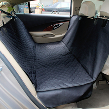 Car Pet Seat Covers Waterproof Back Bench Seat Non-slip Oxford Car Travel Accessories Black Mat for Pets Dogs