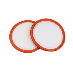 2 шт. бытовой техники 128 мм C3-L148B Orange и белый предварительного фильтра двигателя пылесос фильтр хлопок Замена для vax