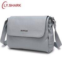 LY.SHARK Women Bags For Women 2018 Shoulder Bag Female Ladies' Genuine Leather Crossbody Bags For Women Messenger Bags
