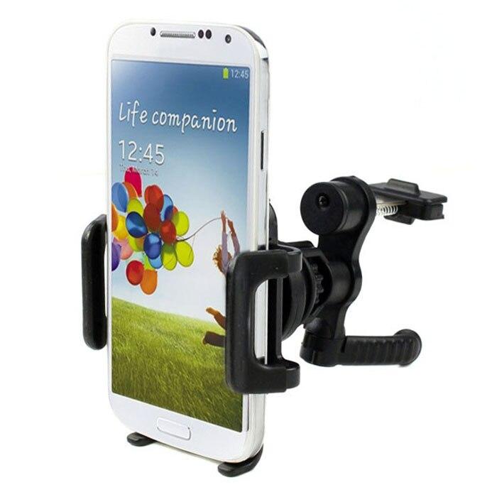 2017# 360 degree Car Air Vent Mount Cradle Holder Stand Adjustable Grip for Moto/iPho Mobile Smart Cell Phone GPS FREESHIPING mobile phone car vent holder