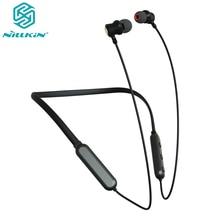 スポーツ実行ハングネックiphone 12プロマックスnillkin bluetooth 5.0ネックバンドヘッドフォンワイヤレスヘッドセット防水イヤフォン