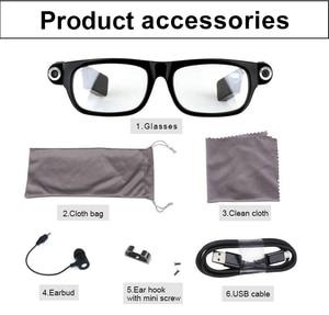 Image 5 - Nieuwe Multifunctionele Bluetooth bril Ondersteuning naar muziek te luisteren en bellen 720 p video bril Ingebouwde 32G opslag LED licht