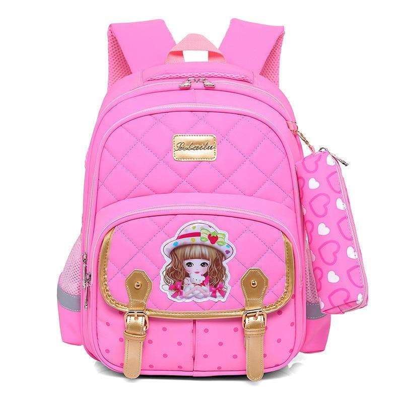 Fashion Children School Backpack School bags For Boys/girls Waterproof Backpack Kids School bag Child Bookbag Rucksack