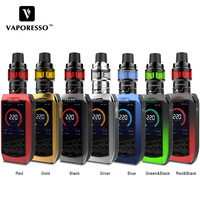 E Cigarette Vaporesso Polar 220W TC Vape Kit Polar Box Mod with 6.5ml Cascade Baby SE Tank Atomizer Compatible All GT Coil