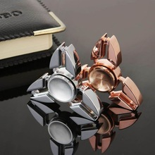 Tri-spinner Zinic Alloy r188 Steel Bearing Fidget Spinner Anti Anxiety Stress Fidget For Autism ADHD Kids Adult Anti Stress Toys