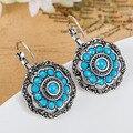 Блестящий мода турецкий серьги дешевой цене бирюзовый орать прекрасно турецкий ювелирные изделия колареш серебра старинные Brincos Brinco