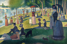 Scenery canvas painting landscape mural prints masterpiece reproduction A Sunday on La Grande Jatte 1884 By Georges Seurat