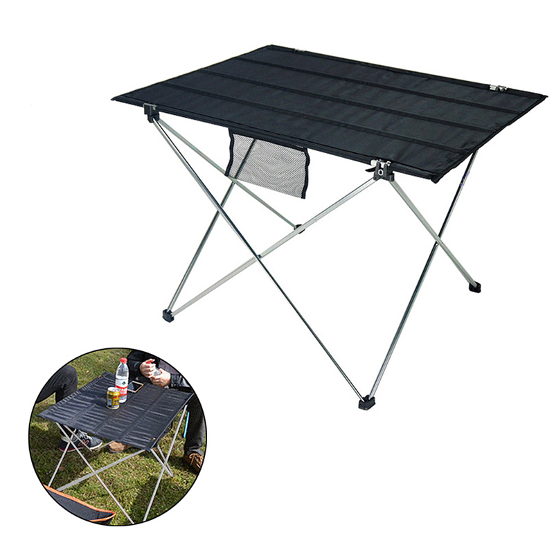 Us 16 92 Off Outdoor Portable Ultralight Folding Table With Storage Bag Aluminum Alloy Oxford For Camping Hiking Picnic Barbecue B2cs In