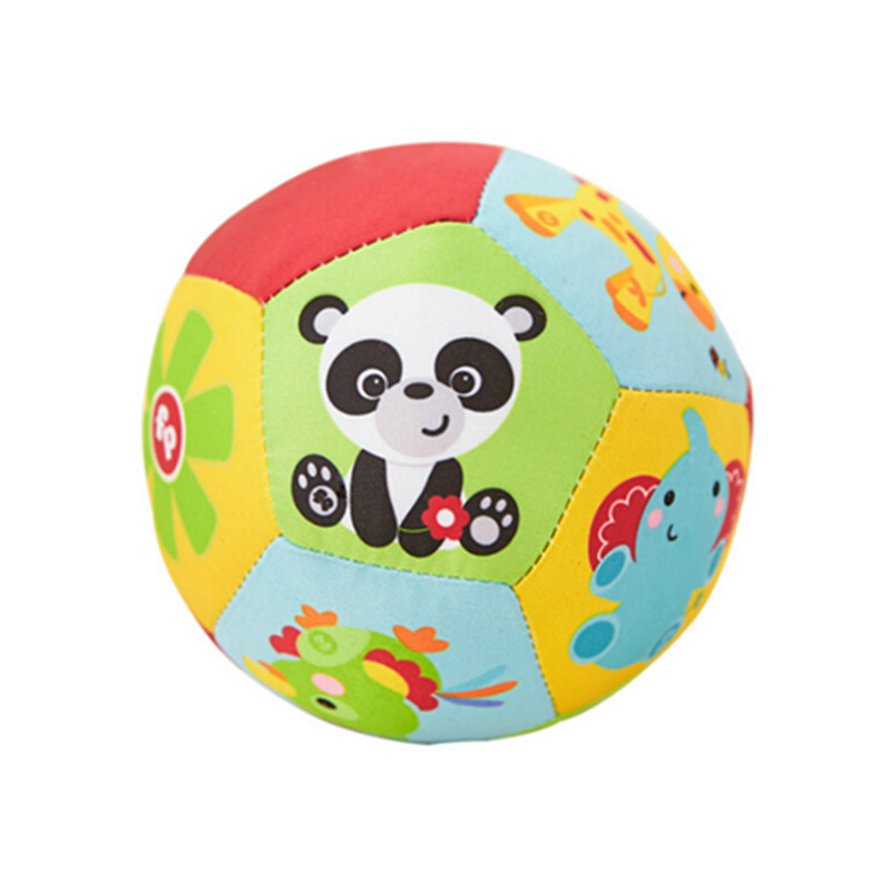 Baby Ball Toys Animal Ball Soft Stuffed Toy Balls Baby Rattles Infant Babies Body Building Ball
