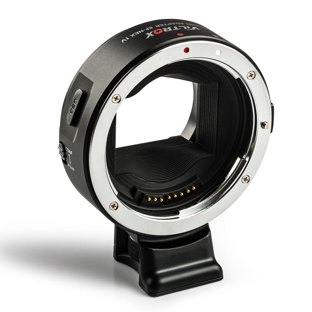 Viltrox EF-NEX IV autofokuslinsadapter för Canon EOS EF-objektiv - Kamera och foto - Foto 3