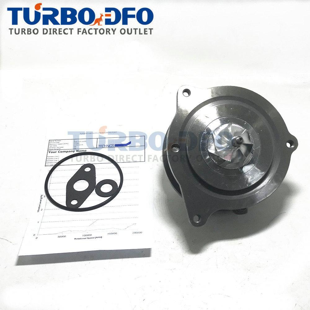 New Balanced B0RV 1630-970-0003 16309700000 Turbocharger CHRA Core Turbine Parts 04B253019G For VW Polo 1.4 TDI CUSA / CUSB