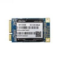 Zheino Hot SATA M1 MSATA 64GB SSD SATA3 Internal Solid State Drive 2D MLC Not TLC