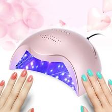 Venta caliente Profesional Secador de Uñas de Gel 42 W LED Tipo Slide UV Manicura Del Arte Del Clavo de Fototerapia de Luz Automático Lámpara de Energía