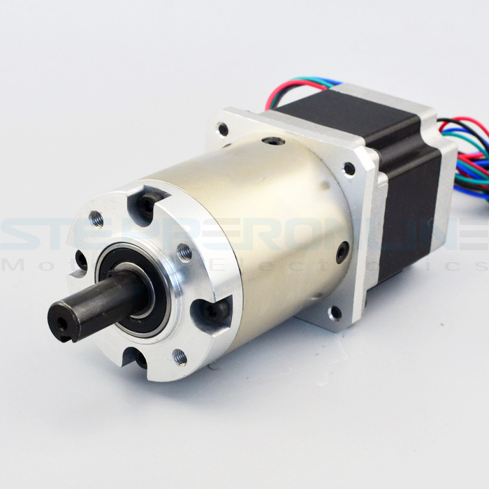 Nema 23 Geared Stepper Motor 2.6V Gear ratio 15:1 planetary reduction gearbox 1.8 deg 2.8A 60*60*116mm stepper gear for cnc nema23 geared stepping motor ratio 50 1 planetary gear stepper motor l76mm 3a 1 8nm 4leads for cnc router