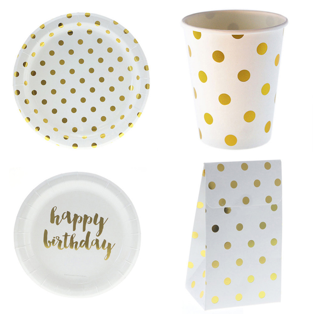 6pcs/set Happy Birthday Disposable Tableware Set Christmas New Year Party Paper Plates Cups Gift Boxes Baby Shower Supplies-in Disposable Party Tableware ...  sc 1 st  AliExpress.com & 6pcs/set Happy Birthday Disposable Tableware Set Christmas New Year ...