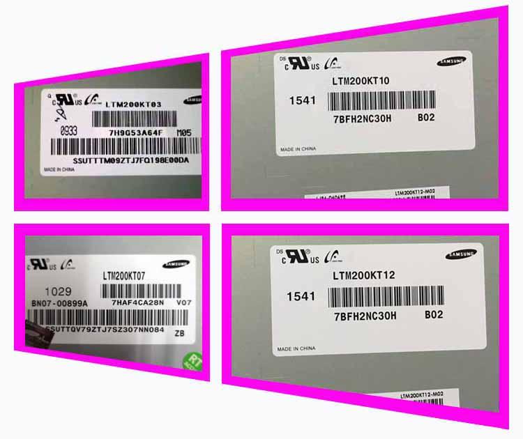 все цены на original new LTM200KT12 10 03 13 original LCD series one machine screen one year warranty