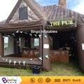 hot sale inflatable party pub tent/party bar tent supplier 6x5x5m BG-A1246-2 toy tent