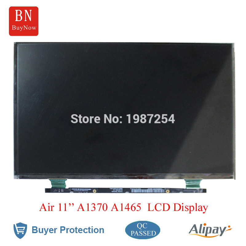 5PCS A1370 A1465 LED LCD Display For Apple Macbook Air 11'' A1370 A1465 LCD Screen B116XW05 V.0 LP116WH4 TJA1 new lcd led screen display backlight cd screen display back rear reflective sheets 5pcs for laptop macbook air 11 6 a1370 a1465