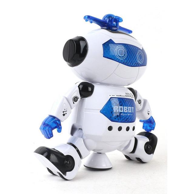 Inteligentny Robot taniec pilot zabawki taniec robota zabawka model elektryczne muzyczne figurki zabawek dla dziecka prezent urodzinowy