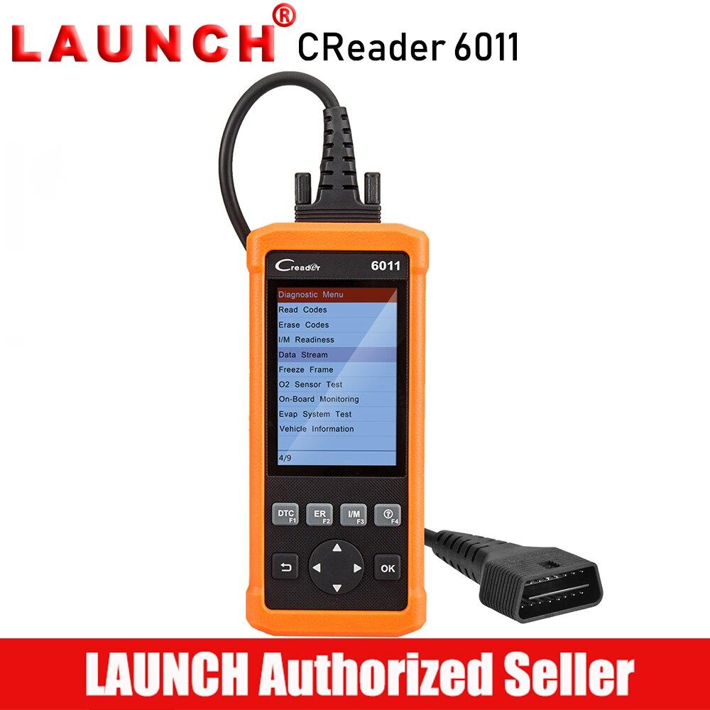 Lancement CReader 6011 OBD2 EOBD Scanner ABS SRS Outil De Diagnostic De Voiture Moteur Airbag Code de Défaut Lecteur Complet OBD 2 Scan diagnostics