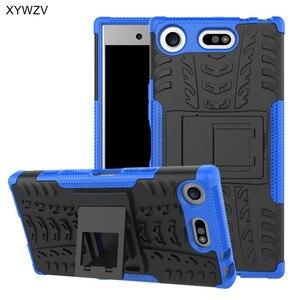 Image 5 - لسوني اريكسون XZ1 المدمجة حالة صدمات الغلاف جراب هاتف لسوني اريكسون XZ1 المدمجة غطاء الخلفي لماركة سوني X Z1 المدمجة