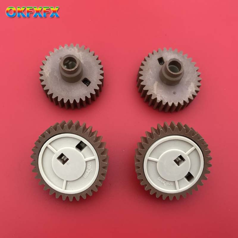 Replace gear kit for <font><b>HP</b></font> P4015 fuser unit p4515 P4014 M4555 P <font><b>4014</b></font> 4015 4515 M 4555 RC2-2399-000 RC2-2399 Fuser gear 32T image