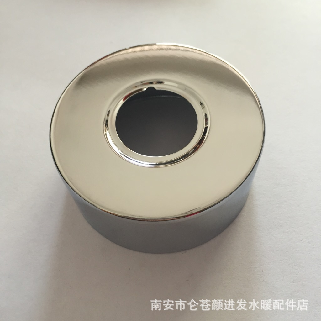 Stainless Steel Polishing Plating 6/8=25mm Hole, 30mm Heightening Widening Thickening Shower Faucet Shower Decorative Cover