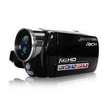 Портативная Инфракрасная видеокамера 1080P HD 16x Zoom 3,0 ''TFT lcd Цифровая видеокамера DV DVR с поддержкой ночной съемки