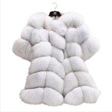 المرأة الشتاء تقليد الثعلب