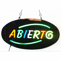 KEBAB OPEN SIGN KEBAB Epoxy Resin Glow Card Luminous Tags Animated Motion Display Flashing On Off